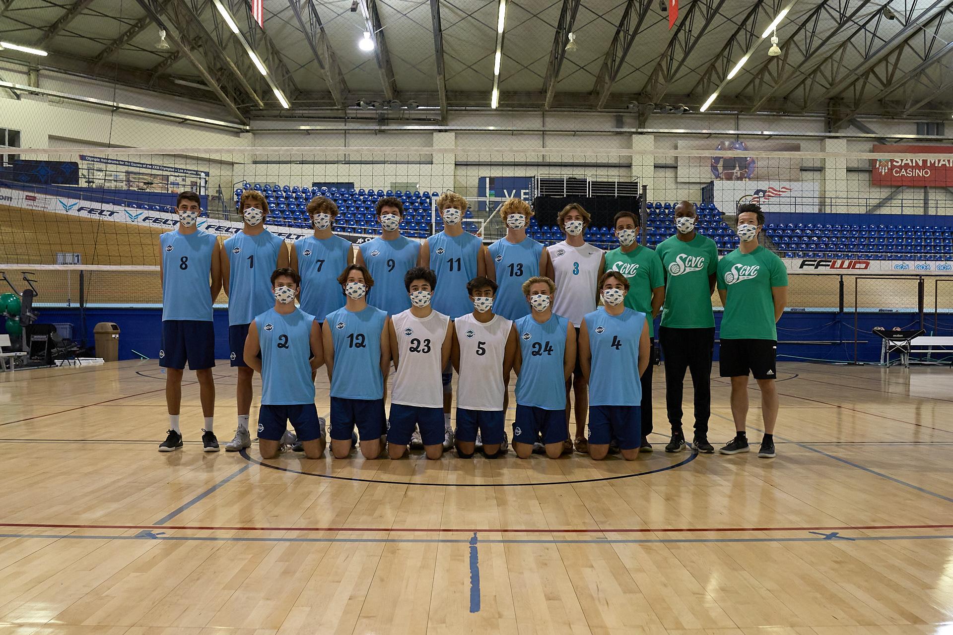 SCVC 18 Quiksilver Team