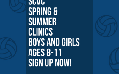 SCVC Summer Clinic Sign Up's: Ages 8-11!