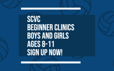 SCVC Beginner Clinic Sign Up's: Ages 8-11!